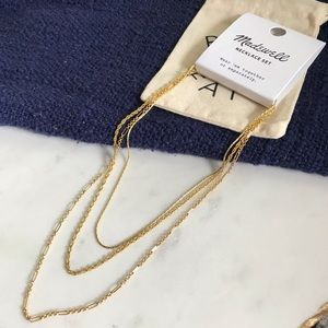 NET Madewell Heritage Chain Neckles set